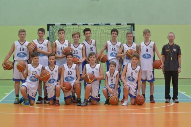 Zwycięstwo zespołu KKS Pro-Basket TBS Kutno w rozgrywkach U-14  - Zdjęcie główne