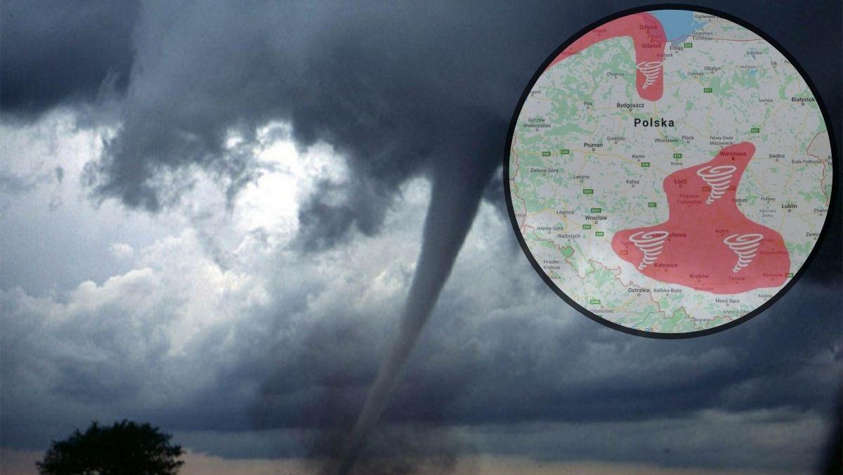 Kutno na granicy alei tornad. Zagrażają nam trąby powietrzne? [ZDJĘCIA/WIDEO] - Zdjęcie główne