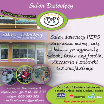 Salon Dziecięcy PEPS zaprasza na Drzwi Otwarte! - Zdjęcie główne