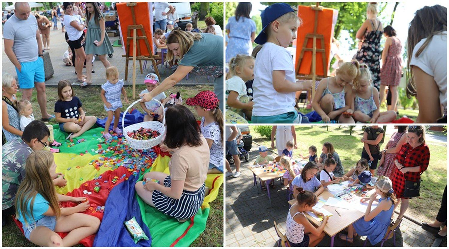 Całe rodziny w centrum Krośniewic. Trwa piknik [ZDJĘCIA] - Zdjęcie główne