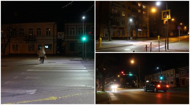 [ZDJĘCIA] W centrum robi się bezpieczniej. Miasto inwestuje w oświetlenie przejść - Zdjęcie główne