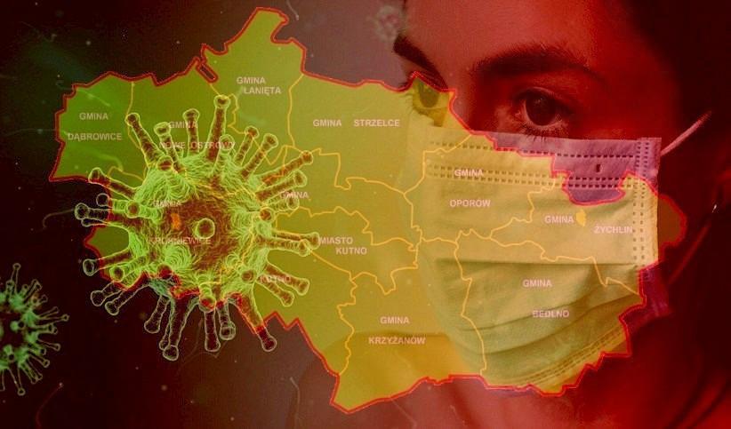 Ponad 20 nowych zachorowań na COVID-19 w powiecie kutnowskim - Zdjęcie główne