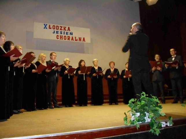 Chór Speranza na X Łódzkiej Jesieni Chóralnej - Zdjęcie główne
