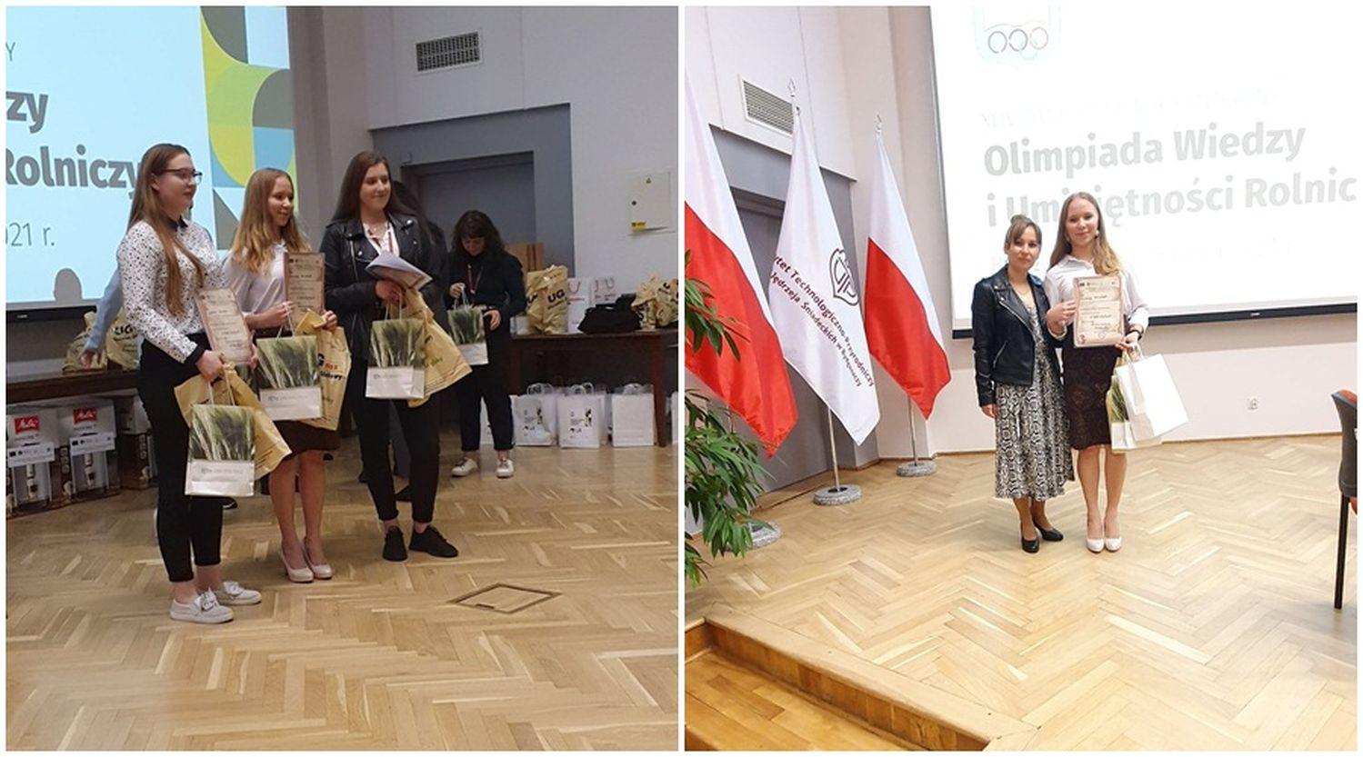 Sukces absolwentki kutnowskiej szkoły. Została laureatką olimpiady! [ZDJĘCIA] - Zdjęcie główne