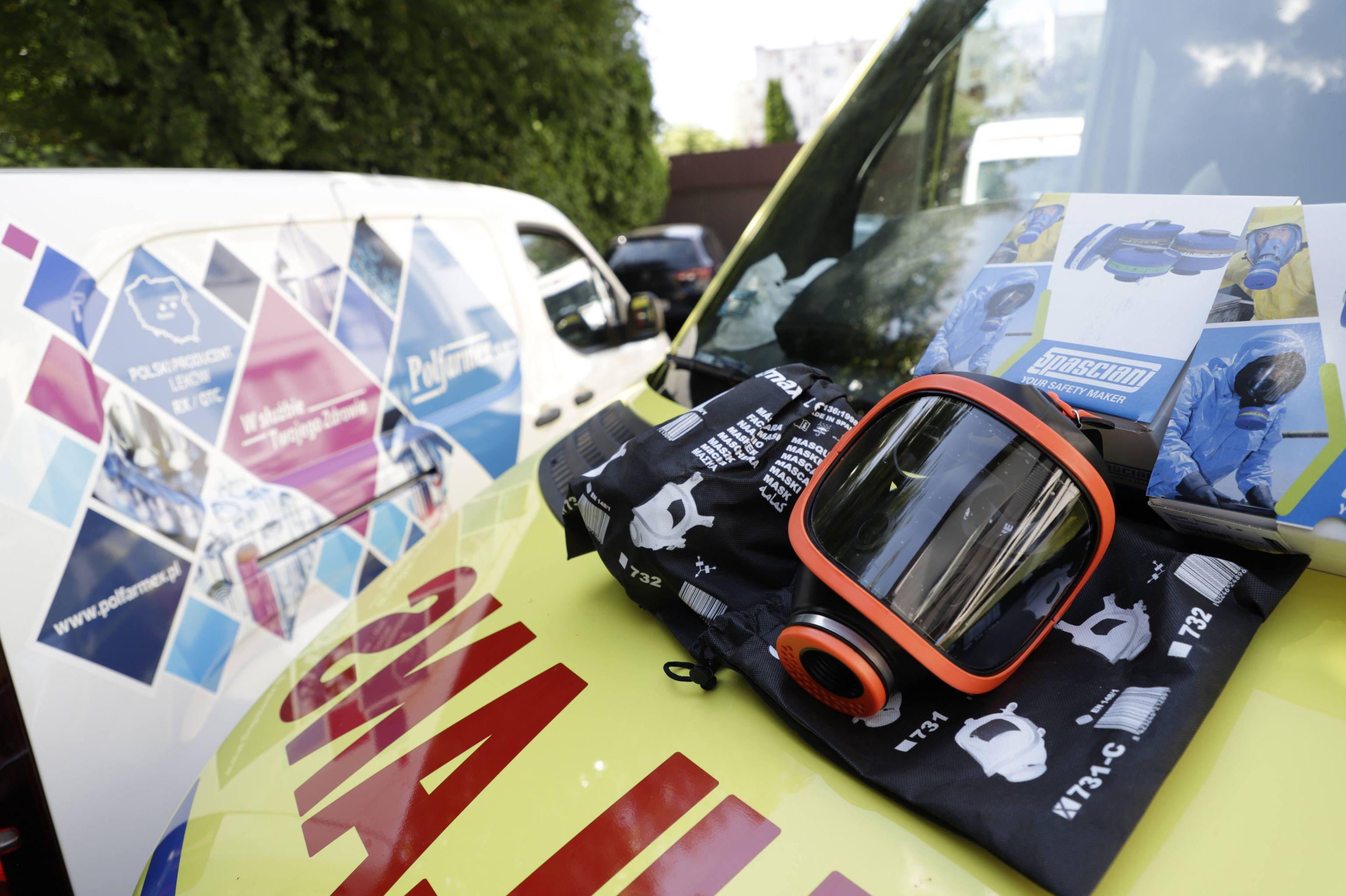 Polfarmex wspiera ratowników medycznych z Kutna i Łodzi. Przekazał ponad 24 tys. zł - Zdjęcie główne