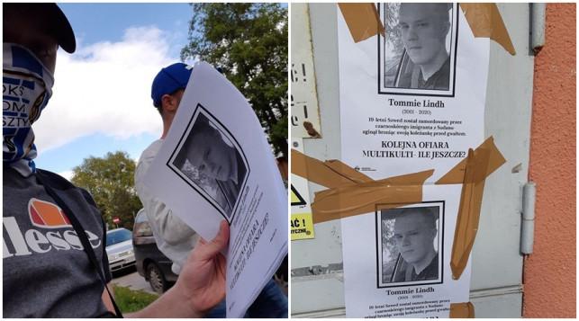 Kontrowersyjne plakaty na ulicach. ''Tu nie ma miejsca na rasistowskie treści'' - Zdjęcie główne