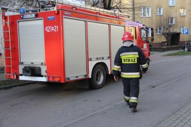 Straż pożarna przy Sienkiewicza. Płonął... - Zdjęcie główne