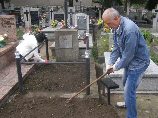 Na ratunek cmentarzowi - Zdjęcie główne