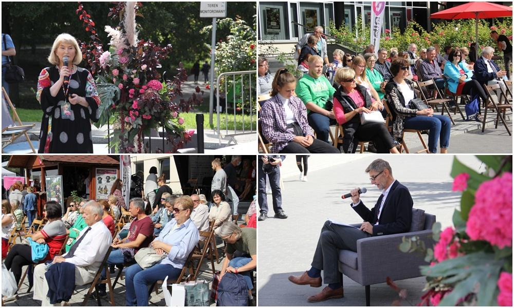 O różach i ich hodowli - wystartował Panel Różany. Dzieje się w Parku Traugutta! [ZDJĘCIA] - Zdjęcie główne