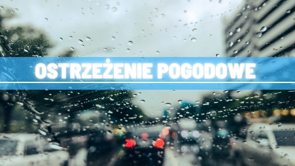 Ostrzeżenie pogodowe dla mieszkańców powiatu kutnowskiego. Prognozowane są ulewne deszcze - Zdjęcie główne
