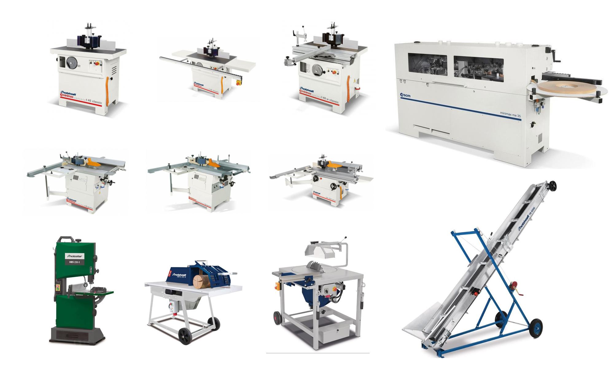 Maszyny i narzędzia stolarskie odpowiednie do twojego warsztatu - Zdjęcie główne