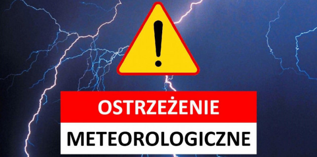 W powiecie kutnowskim możliwe silne burze. Wydano ostrzeżenie - Zdjęcie główne