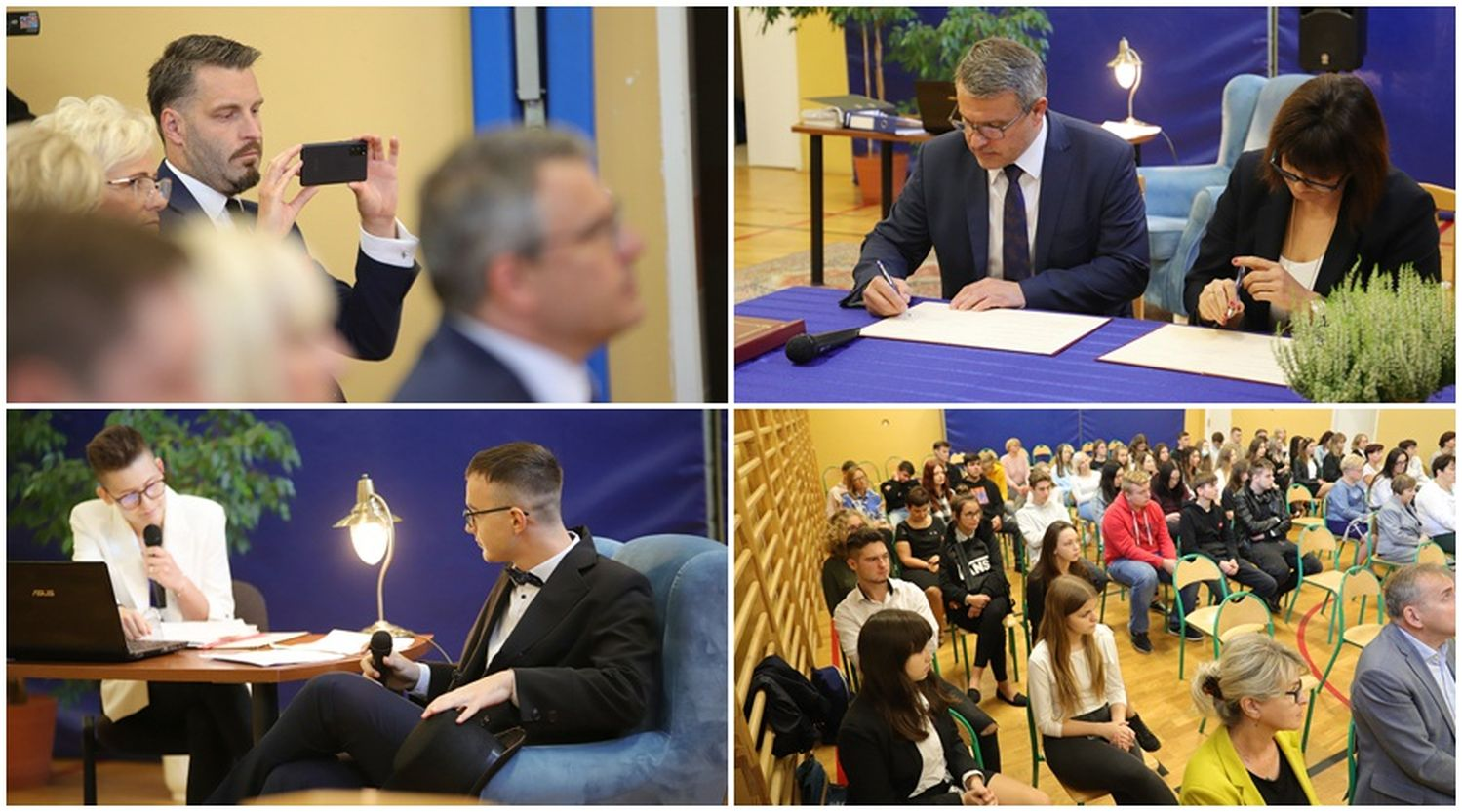 Kutnowski szpital podpisuje porozumienie z jedną ze szkół. Na czym ma polegać? [ZDJĘCIA] - Zdjęcie główne