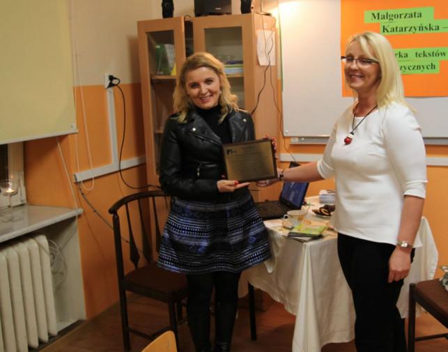 Spotkanie autorskie w Zespole Szkół Nr 4 w Kutnie - Azorach - Zdjęcie główne