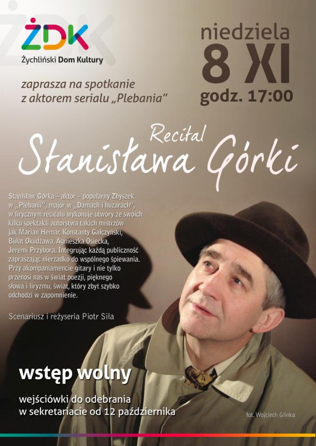 Recital Stanisława Górki - Zdjęcie główne