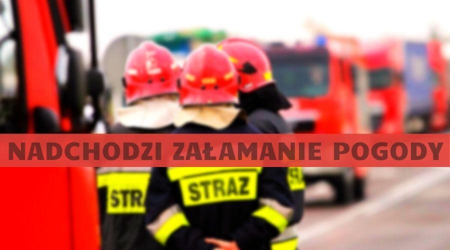 Ostrzeżenie dla mieszkańców powiatu kutnowskiego. Dziś możliwe burze z gradem - Zdjęcie główne