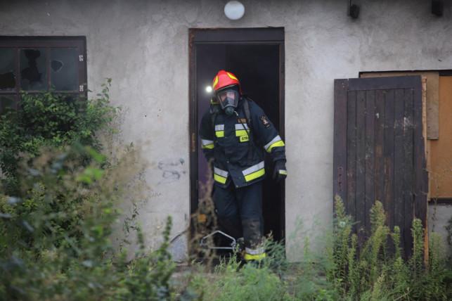 [ZDJĘCIA] Pożar w Kutnie. Błyskawiczna akcja straży - Zdjęcie główne