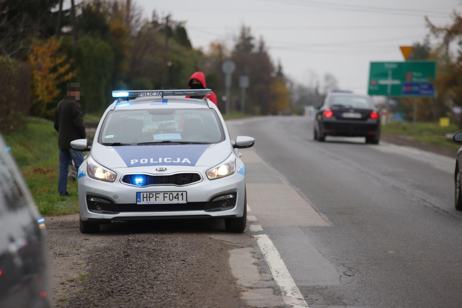 Duża policyjna akcja na drogach - Zdjęcie główne