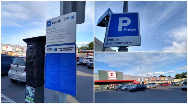 [FOTO] Płatne parkowanie pod kutnowskim marketem. Sieć sklepów wyjaśnia - Zdjęcie główne