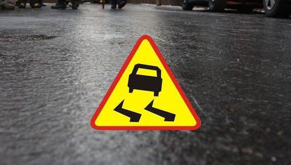 Meteorolodzy ostrzegają: oblodzenie na drogach - Zdjęcie główne
