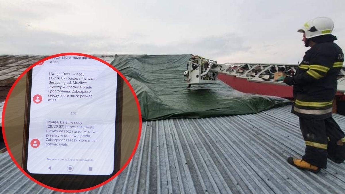 Zerwało dach, wyrwało drzewo z korzeniami. Mieszkańcy powiatu kutnowskiego znów dostają ostrzeżenia [ZDJĘCIA] - Zdjęcie główne
