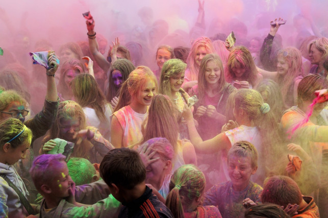 Szykuje się wielka impreza pod kutnowską galerią! W planach m.in. Święto Kolorów  - Zdjęcie główne