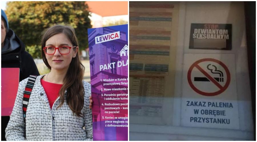 """Homofobia na... przystankach autobusowych? Kutnowska posłanka: """"Trzeba interweniować"""" [ZDJĘCIA] - Zdjęcie główne"""