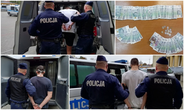 [ZDJĘCIA] Kutnowscy kryminalni rozbili szajkę oszustów. Wśród zatrzymanych 15-latek - Zdjęcie główne