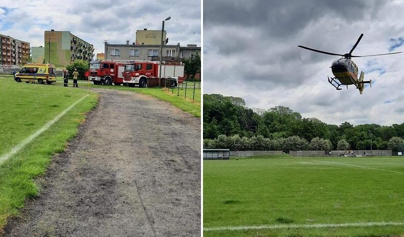 Kolejne lądowanie śmigłowca LPR. Mężczyzna potrzebował pilnej pomocy [FOTO] - Zdjęcie główne