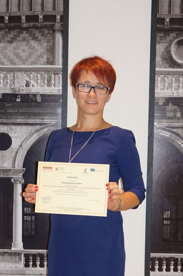 Do Włoch przybyła kutnowska nauczycielka - Zdjęcie główne
