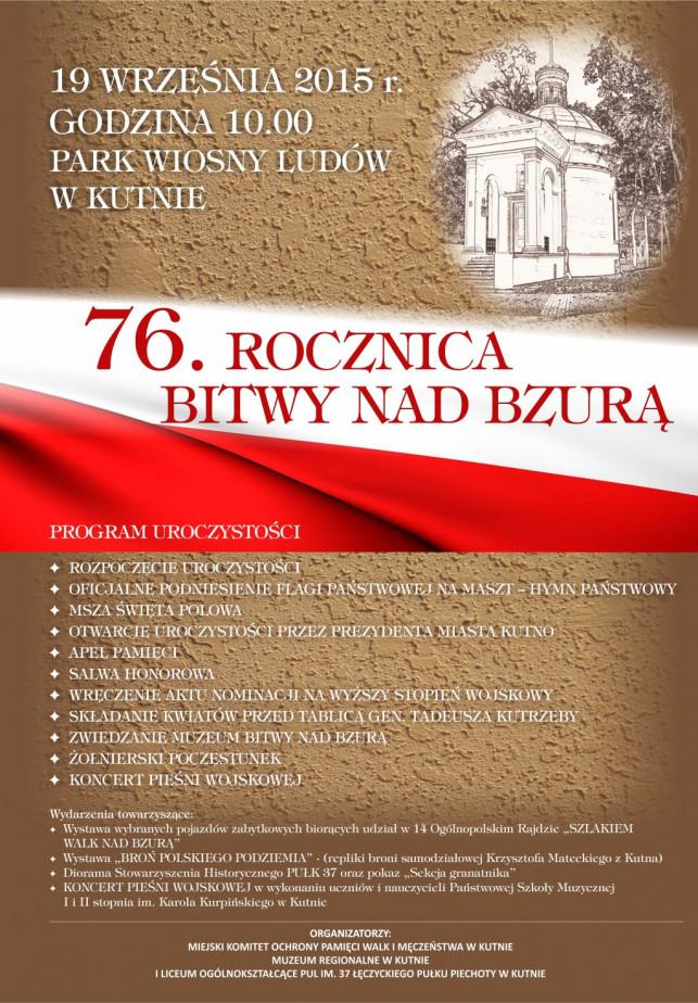 [KUTNO] 76 rocznica Bitwy nad Bzurą - Zdjęcie główne
