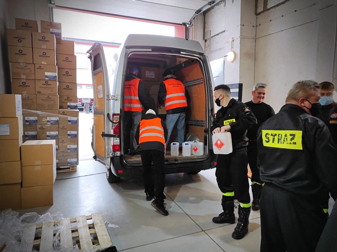 [ZDJĘCIA] Władze miasta znów pomagają w walce z koronawirusem - Zdjęcie główne