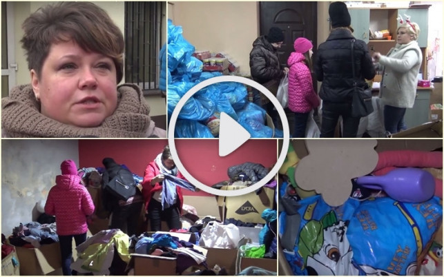 """[WIDEO] Niosą pomoc przed świętami. """"Pomagamy spełnić marzenia dzieci z Kutna i powiatu"""" - Zdjęcie główne"""