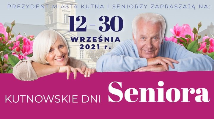 Program Kutnowskich Dni Seniora - Zdjęcie główne