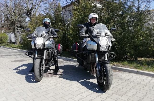 [FOTO] Nieoznakowane policyjne motocykle wyjechały na drogi. Gdzie można je spotkać? - Zdjęcie główne