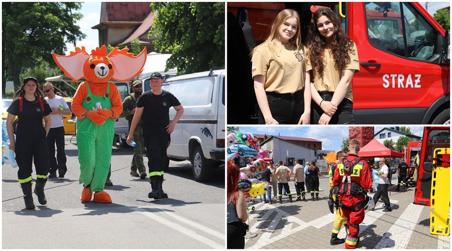 Duża impreza w Żychlinie. Strażacy przygotowali masę atrakcji! [ZDJĘCIA] - Zdjęcie główne