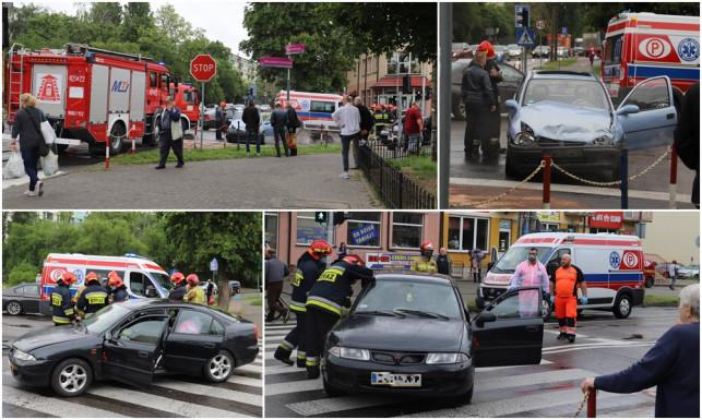 [ZDJĘCIA] Groźnie na Warszawskim Przedmieściu. Są ranni, duże utrudnienia w ruchu - Zdjęcie główne