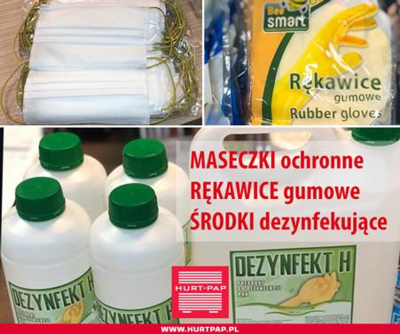 HURT-PAP - maseczki i środki dezynfekujące - Zdjęcie główne