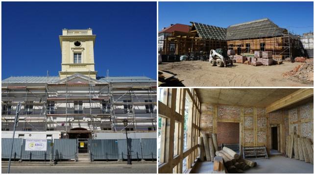 [ZDJĘCIA] Pracują mimo pandemii. Zobacz najnowsze zdjęcia z Pałacu Saskiego! - Zdjęcie główne