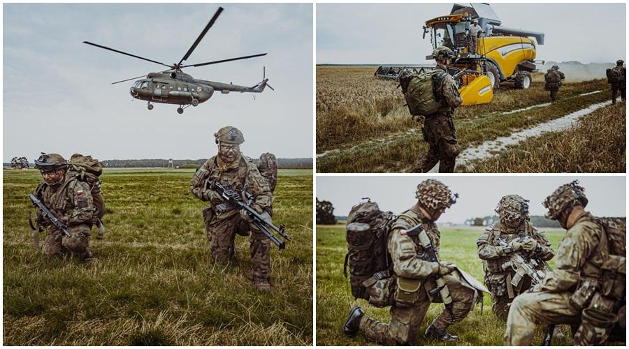 Żołnierze Obrony Terytorialnej z Kutna ćwiczyli z… kawalerią powietrzną. Mamy zdjęcia! - Zdjęcie główne