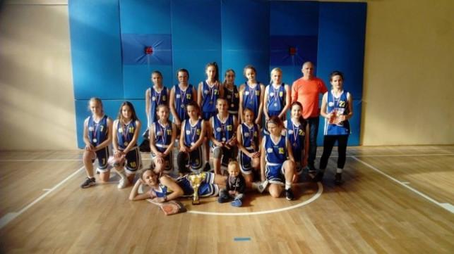 Młodziczki Młodsze KKS Pro-Basket Kutno wygrywają w pierwszym meczu sezonu  - Zdjęcie główne