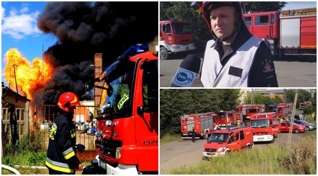 [ZDJĘCIA/WIDEO] Wielki pożar, morderczy wysiłek strażaków. Mamy nowe informacje - Zdjęcie główne