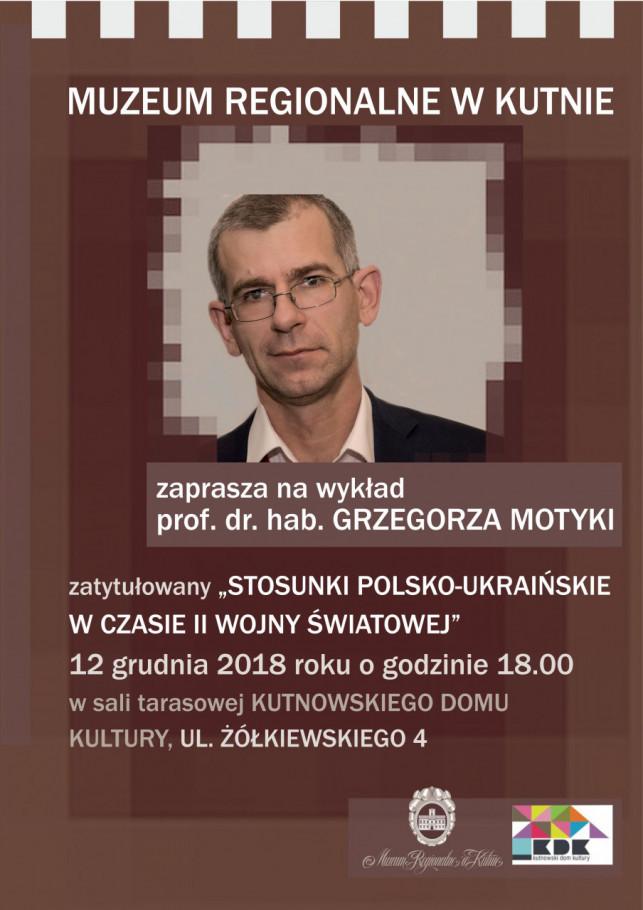 """""""Spotkania z historią na bis"""" - spotkanie z Grzegorzem Motyką - Zdjęcie główne"""