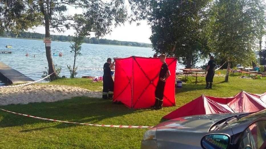 Tragiczna niedziela nad jeziorem. Utonął mężczyzna - Zdjęcie główne