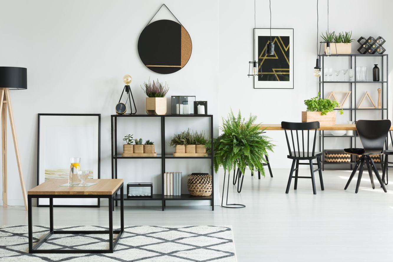 Meble metalowe w mieszkaniach - Zdjęcie główne