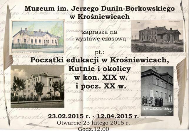Muzeum w Krośniewicach zaprasza na wernisaż - Zdjęcie główne