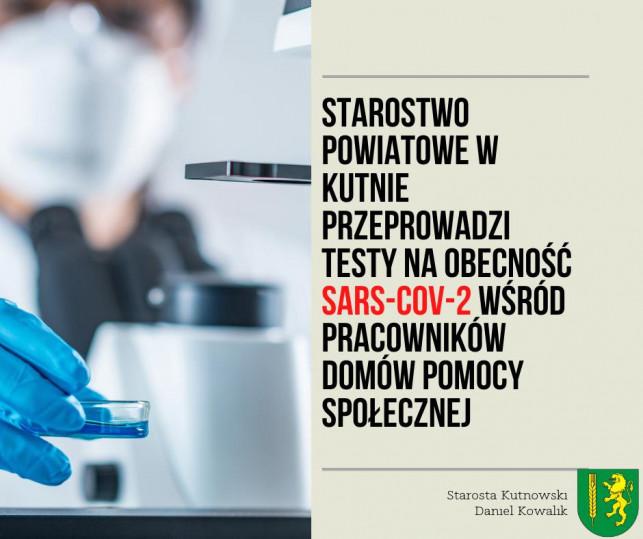 Starostwo powiatowe funduje testy na koronawirusa pracownikom z... - Zdjęcie główne