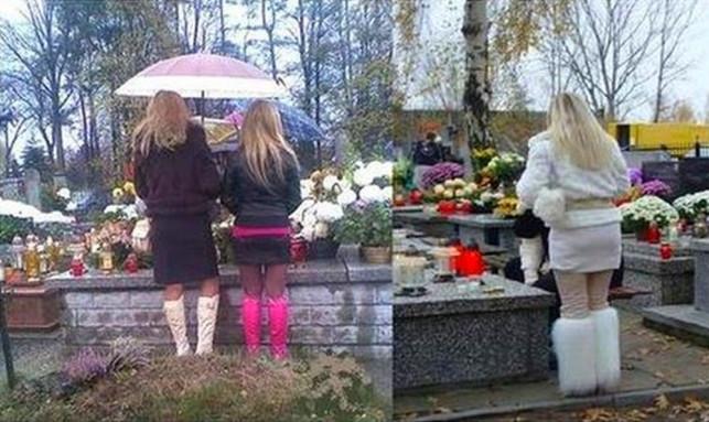 W mini na cmentarz, czyli: jak nie ubierać się 1 listopada - Zdjęcie główne