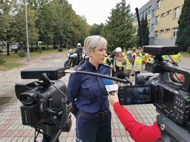 [ZDJĘCIA] Wielka akcja policji. Chodzi o bezpieczeństwo pieszych - Zdjęcie główne
