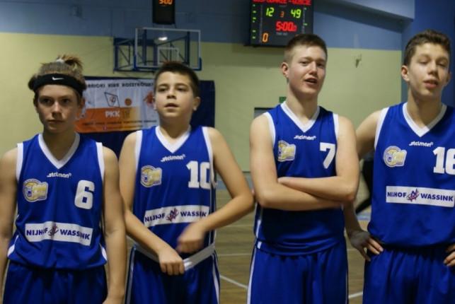 Piąte z rzędu zwycięstwo Młodzików KKS Pro-Basket Nijhof Wassink Kutno - Zdjęcie główne
